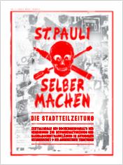 Cover der ersten Ausgabe der St. Pauli Stadtteilzeitung