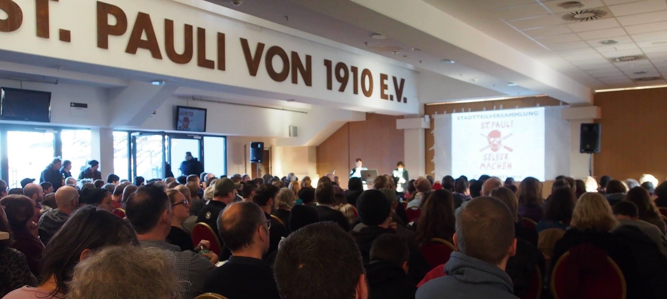 Foto von der 5. Stadtteilversammlung St. Pauli